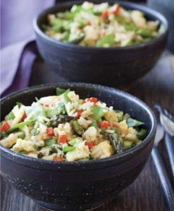 rice vegetables