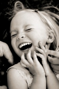 child laugh