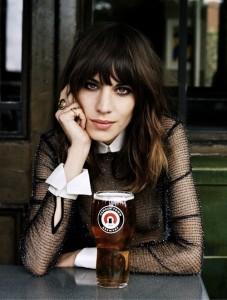 woman beer