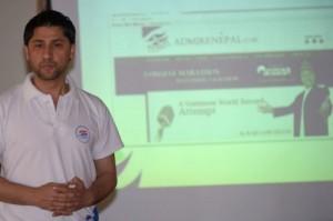 tv presenter nepal guiness record