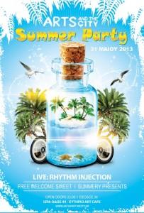 artsamdthecity-summer-party-poster