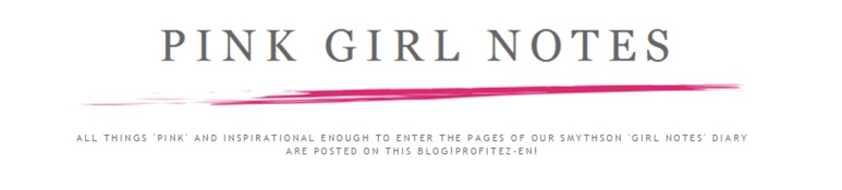 pink girl notes