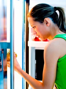 woman-and-fridge