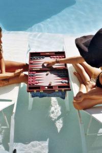 women summer pool