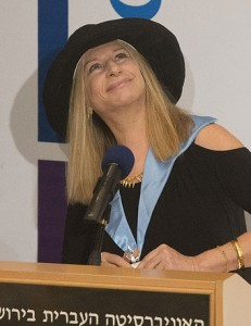 Barbra Streisand ISRAEL JUNE 2013