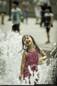 Splashing!