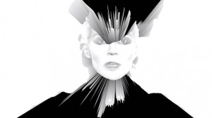 Daphne Guinness in her 'Fatal Flaw' music video. Photo: Via SHOWstudio's Youtube Channel