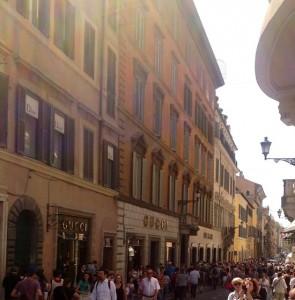 Via Condotti , Roma