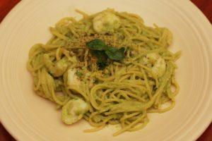 Creamy-Avocado-Pasta-with-Shrimp