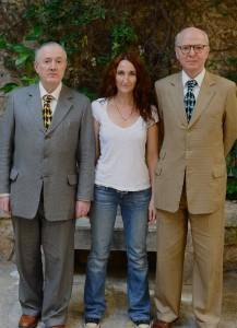 Με τους artists Gilbert & George