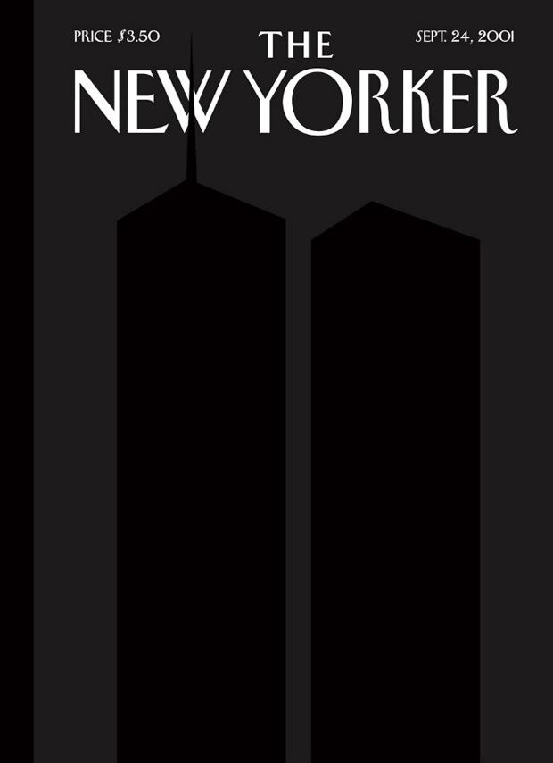 Το εξώφυλλο στις 24 Σεπτεμβρίου του 2001