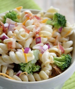 pasta salad broccoli