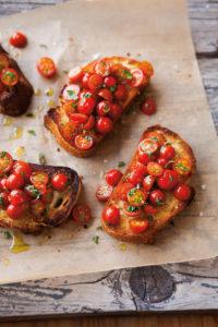 Bruschetta tomatoes