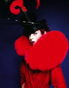Ιsabella Blow, 1997Photo: © Mario Testino
