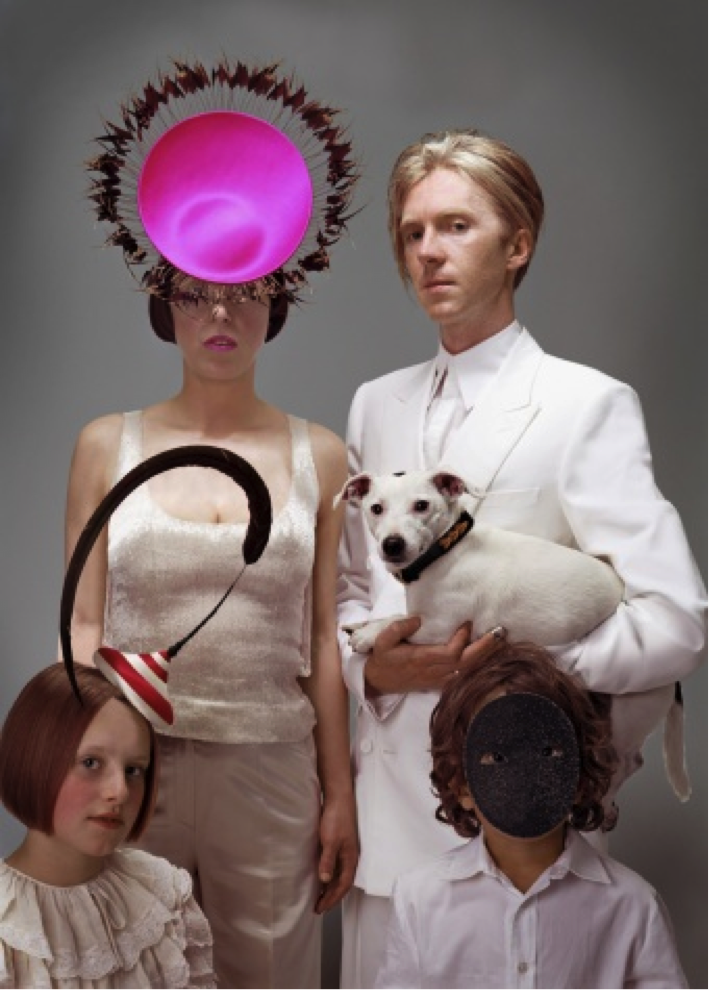 Isabella Blow and Philip Treacy, 2003 Photo: © Donald McPherson