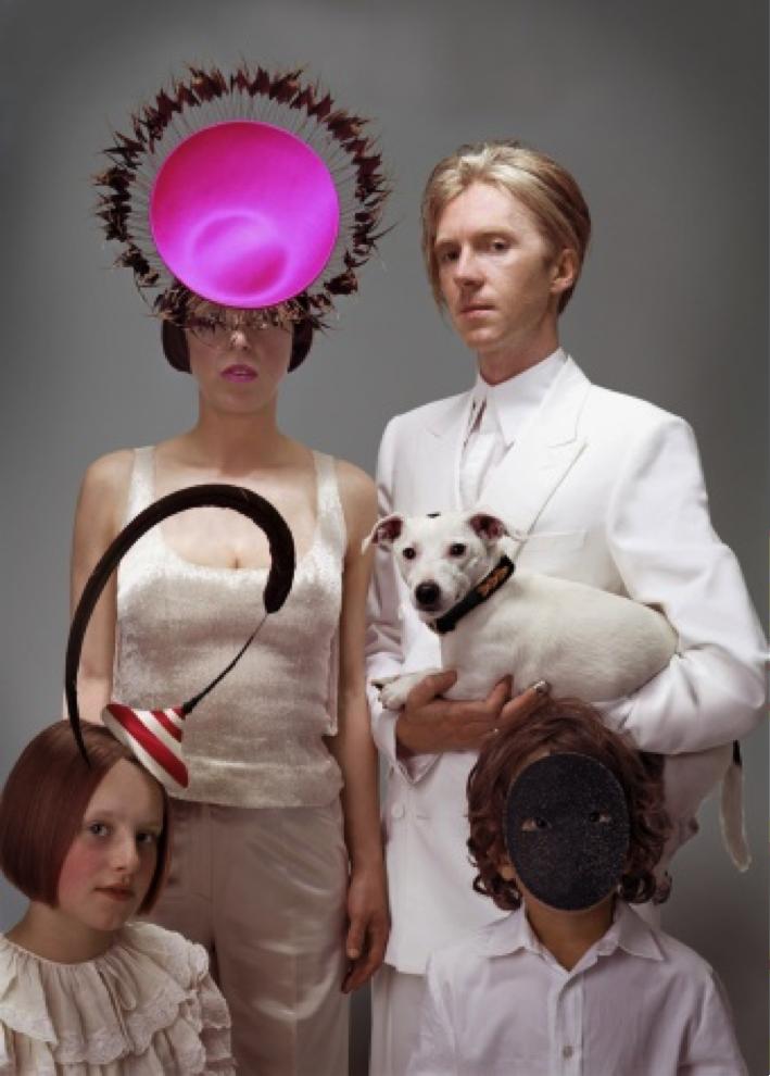 Isabella Blow and Philip Treacy, 2003 Photo: © Donald McPherson