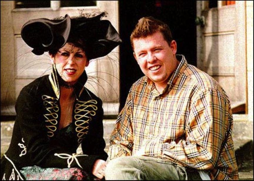 H Isabella Blow με τον τότε φοιτητή Alexander McQueen