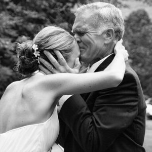 father daughter wedding day