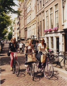 girl bike ride
