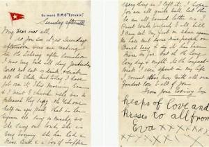 titanic letter sold