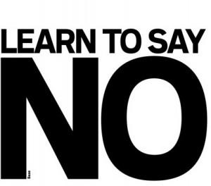 say no 1