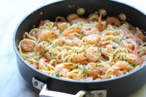 linguini shrimps