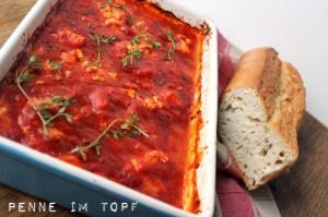 tomato sauce feta