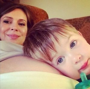 alyssa milano and son milo