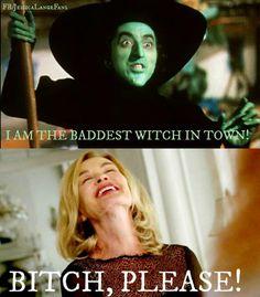 Jessica Lange - Fiona Goode Vs. Wicked Witch