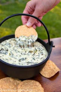 dip spinach