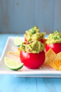 guacamole finger food