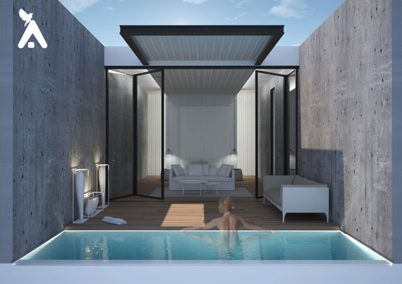PLEXIS Honeymoon Suite