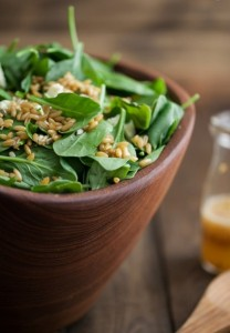 salad spinach orange dressing