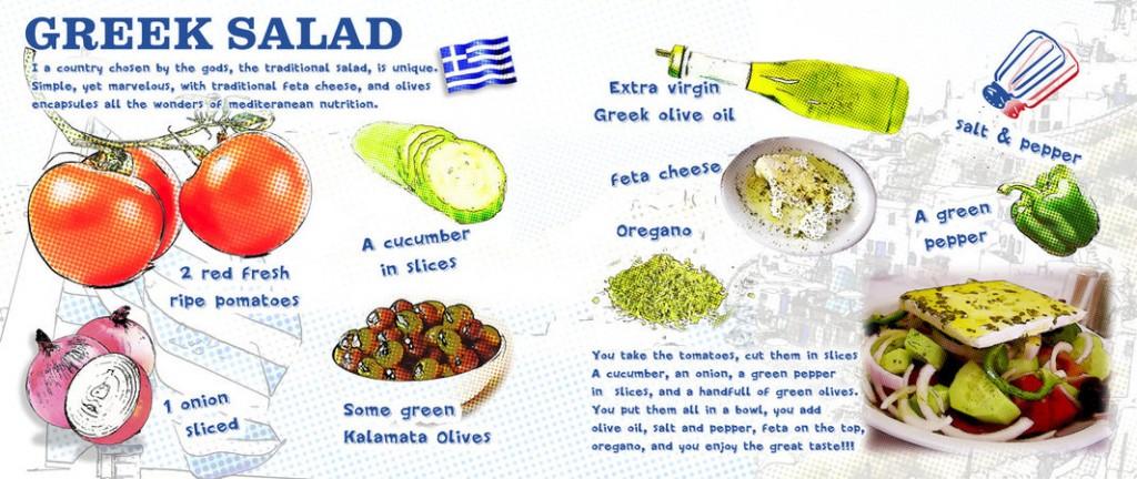 greek salad kouzinogatos