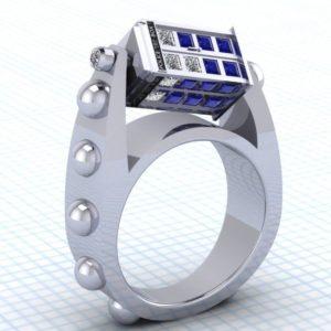 Δαχτυλίδι TARDIS
