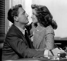 Katharine Hepburn & Spencer Tracy - Woman of the Year