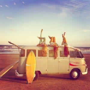 girls on the beach 2 van