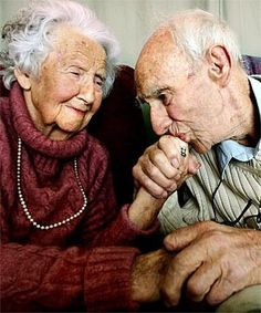 old loved couple