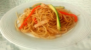 spaghetti pepers sping