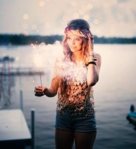 woman celebration free spirit