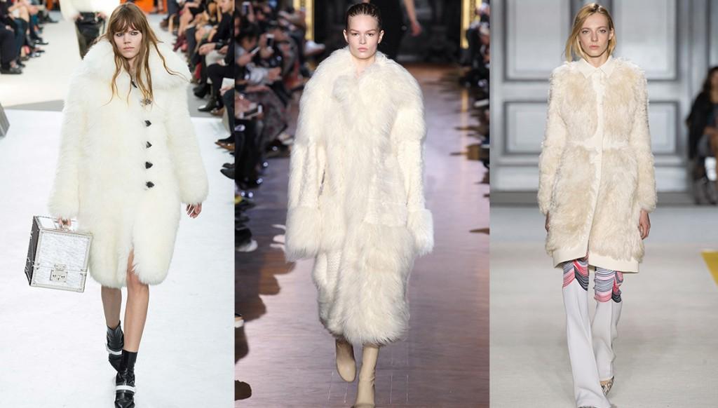 15 white fur