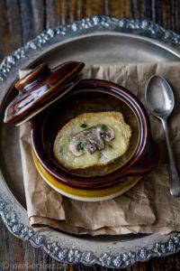 onion soup a la francaise