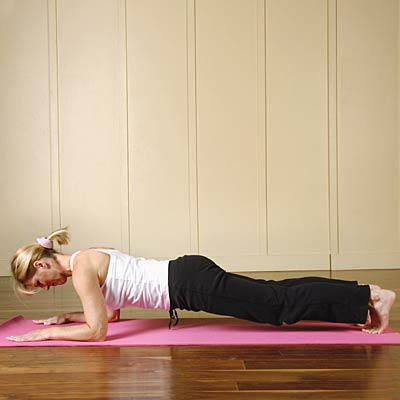12 - Plank Pose