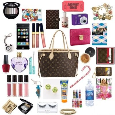 inside woman bag