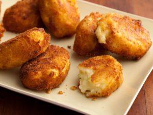 Potato Croquettes; Paula Deen