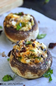 mushrooms-stuffed-cheese