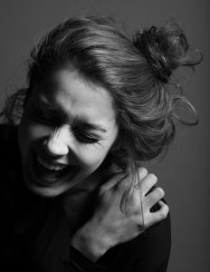 woman-laughing