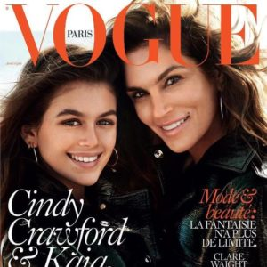Cindy Crawford & Kaia Gerber for Vogue 2