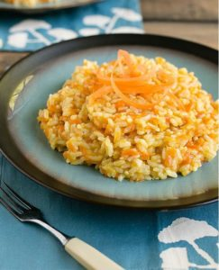 carot-risotto