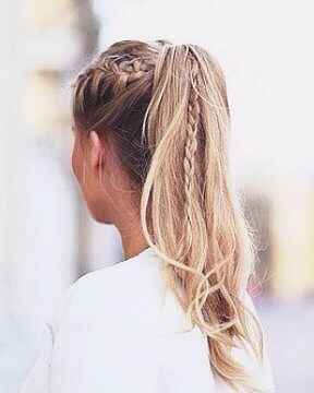 Ponytail & braid